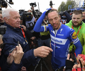 Patrick Lefevere - Philippe GIlbert - Roubaix