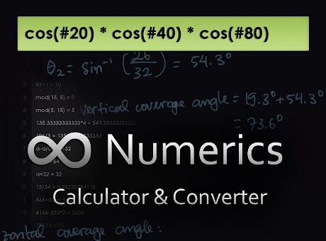 Numerics Calculator & Converter