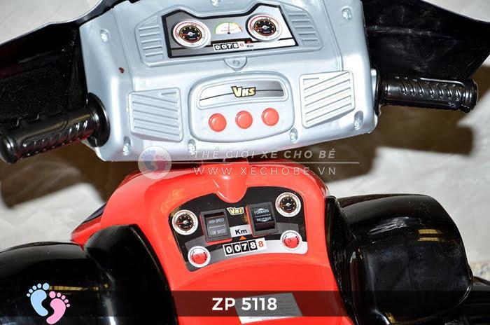Xe moto điện trẻ em 4 bánh ZP-5118 10