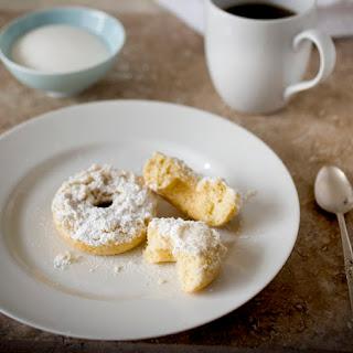 Baked Crumb Cake Donuts