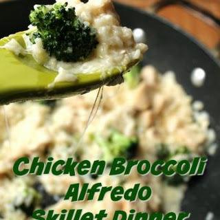 Chicken Broccoli Alfredo Skillet Dinner