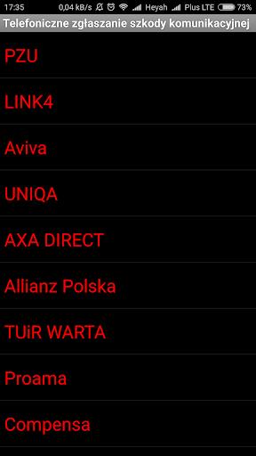 Niezbu0119dnik kierowcy - asystent 2.8 screenshots 8