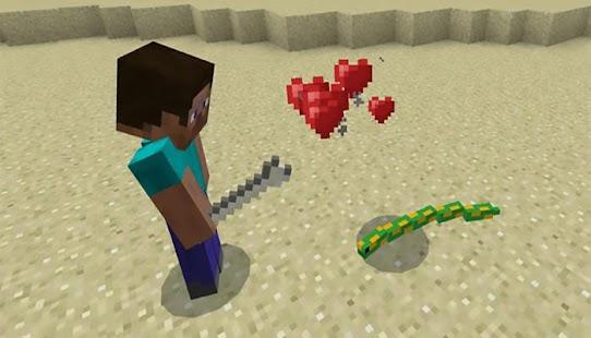 Mine-Snakes Add-on Minecraft PE MCPE - náhled