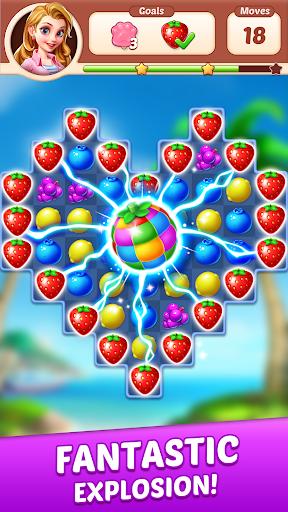Fruit Genies - Match 3 Puzzle Games Offline apkslow screenshots 3