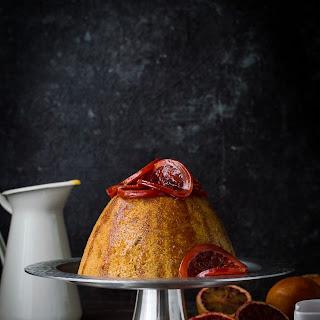 Slow Cooker Blood Orange And Ginger Steamed Pudding.