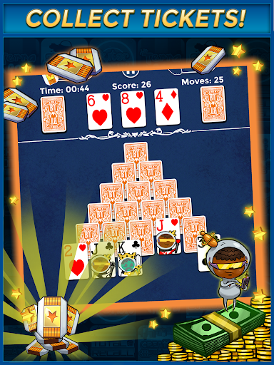 Pyramid Solitaire - Make Money Free - screenshot