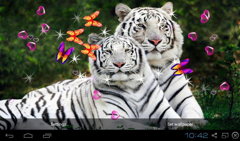 3d bengal tiger wallpapers android apps on google play
