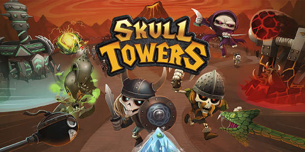 Skull Towers - Castle Defense- screenshot thumbnail