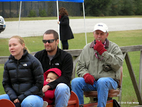 Photo: Conductor Mike Alexander on the first returning train of the day at 9:15 AM    HALS Public Run Day 2014-1115 RPW