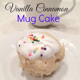 Cinnamon Mug Cake