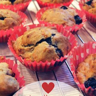 Banana Blueberry Muffins No Sugar Recipes.