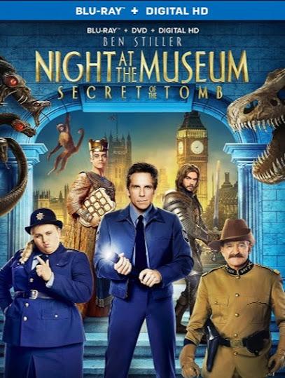 Filme Poster Uma Noite no Museu 3: O Segredo da Tumba BRRip XviD & RMVB Legendado
