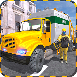 Real City Garbage Truck sim 3D for PC and MAC