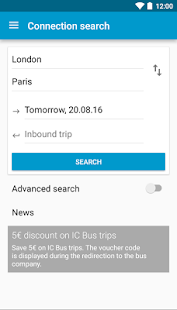 Busradar: Bus Trip App- screenshot thumbnail