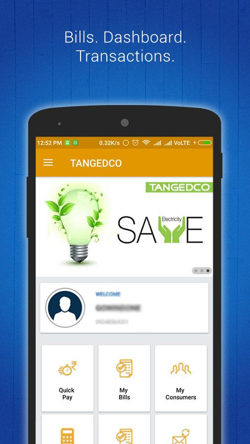 TANGEDCO Mobile App (Official)- screenshot