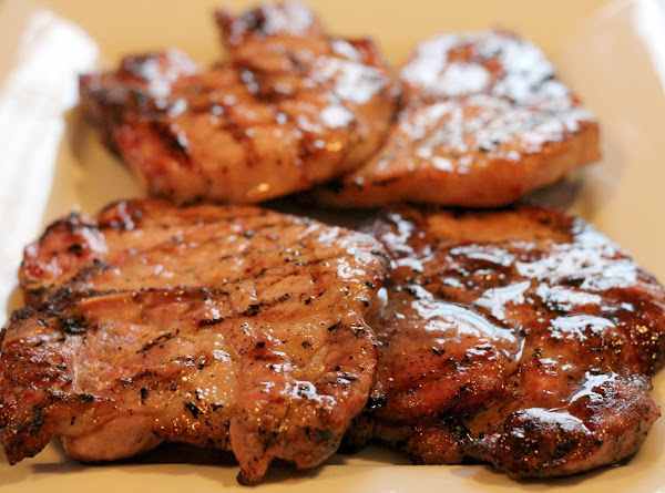 Grilled Brown Sugar Glazed Pork Chops Recipe