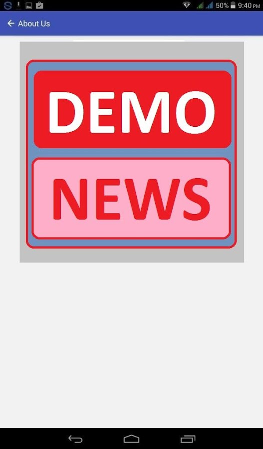 Local News Demo- screenshot