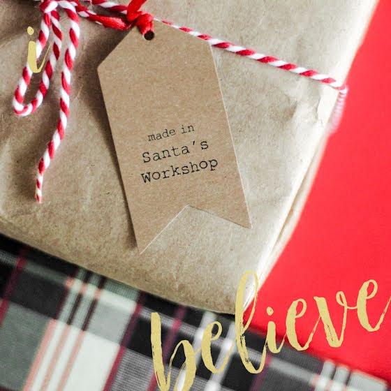 Santa's Workshop - Christmas Template