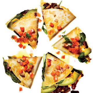 Vegetable Quesadillas With Fresh Salsa