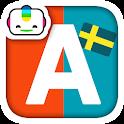 Bogga Alfabet svenska - lära