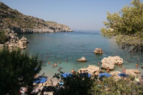 Photo: Bay in the resort Kallithea