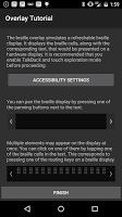 screenshot of Google BrailleBack
