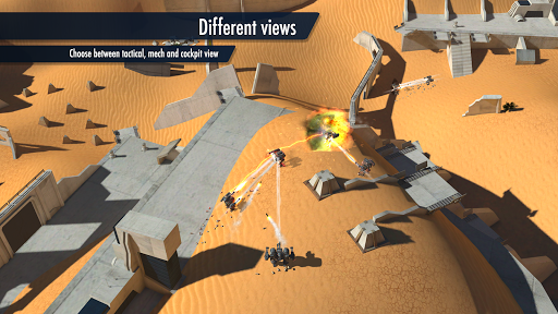 Mech Battle - Robots warfare  captures d'u00e9cran 2