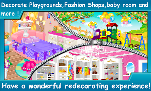 Baby doll room decoration game slune for Baby bedroom decoration games
