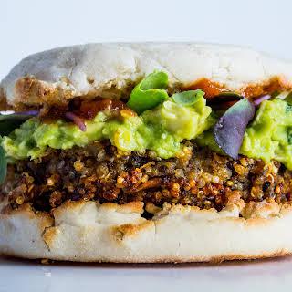 Stellar Quinoa Burger.
