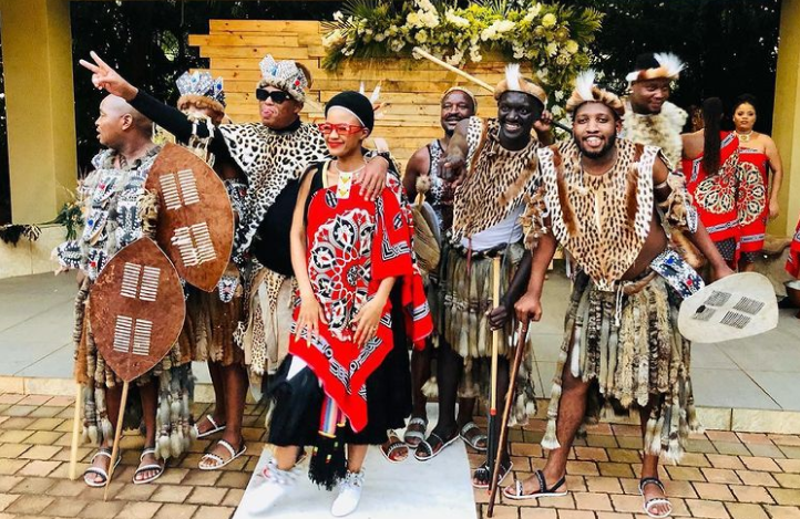 Babes and Mampintsha celebrated their traditional wedding over the weekend.