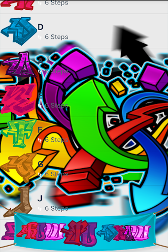 how to draw graffiti - easy