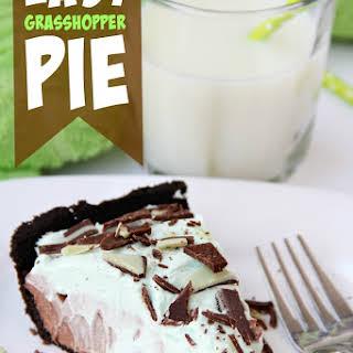 Easy Grasshopper Pie.