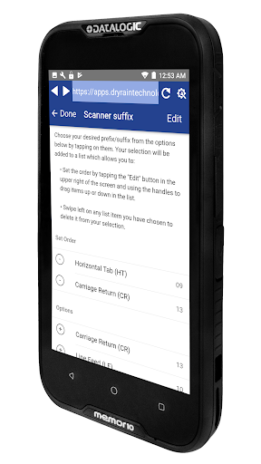 Screenshot for Enterprise Browser for Data Collection 2019 in United States Play Store