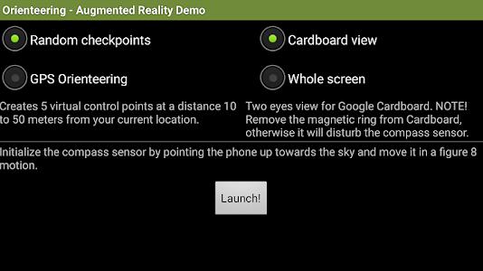Orienteering AR Demo screenshot 1