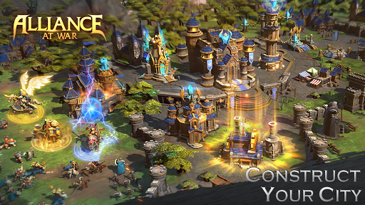 Alliance at war: magic throne - screenshot