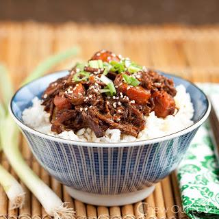 Korean BBQ Beef (Slow Cooker) Recipe