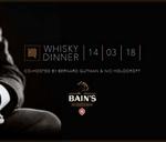 Bain's Whisky Dinner at HQ : HQ