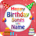 Birthday Song With Name, Birthday Wishes Maker icon