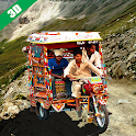 Real Tuk Tuk Auto Rickshaw Driving 3d-Offroad Game icon