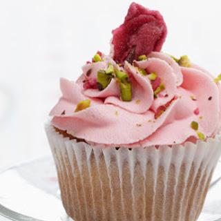 Rose and Pistachio Cupcakes Recipe