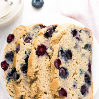 The Ultimate Healthy Blueberry Pound Cake.