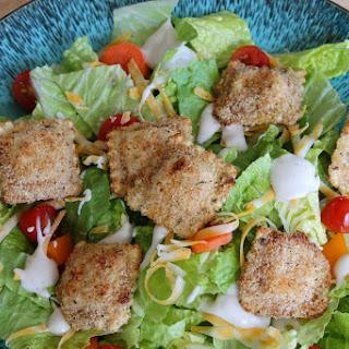 Oven-Fried Mac and Cheese Ravioli Salad.