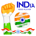 INDIA Video Player icon