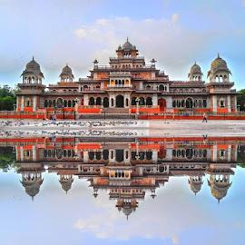 Albert Hall Museum, Jaipur (Rajasthan) by Chetan Meena - Buildings & Architecture Public & Historical (  )