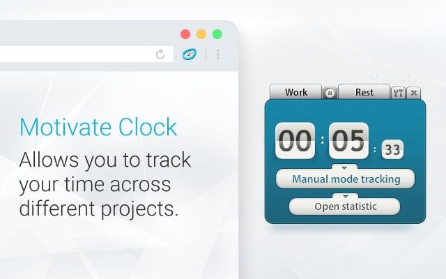 Motivate Clock | Time Tracker