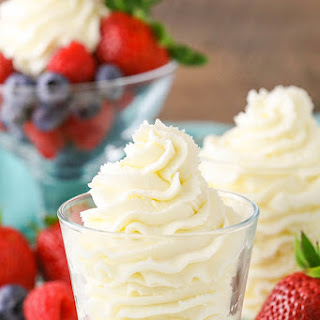 Stabilized Mascarpone Whipped Cream Recipe