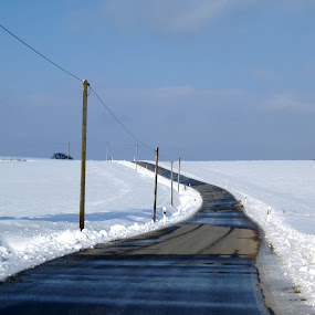 Winter 1        by BertJan Niezing - Landscapes Weather ( pwcwinter, winter, ice, snow, landscape )