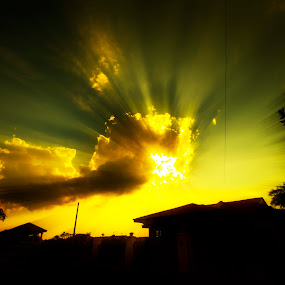ROL of sunset by Chairelgibrant Othman - Landscapes Sunsets & Sunrises