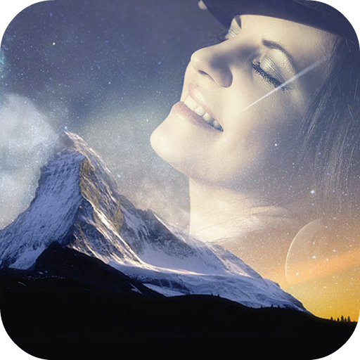 Night Overlay Photo Effects: Wallpaper Maker App Icon