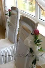 Photo: Dekoracja krzeseł Pary Młodej - Sala G-katering
